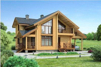 防腐木单层木屋 木屋别墅 农家乐木屋