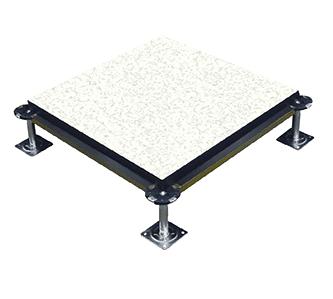 华派机房硫酸钙封边防静电地板