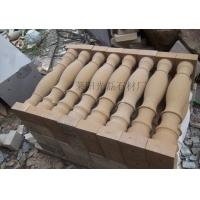黄砂岩 花瓶柱 异型花瓶柱 天然石材