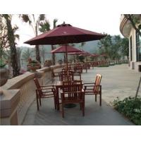 金秋厂家直销户外桌椅、实木桌椅、编藤桌椅、沙滩躺椅