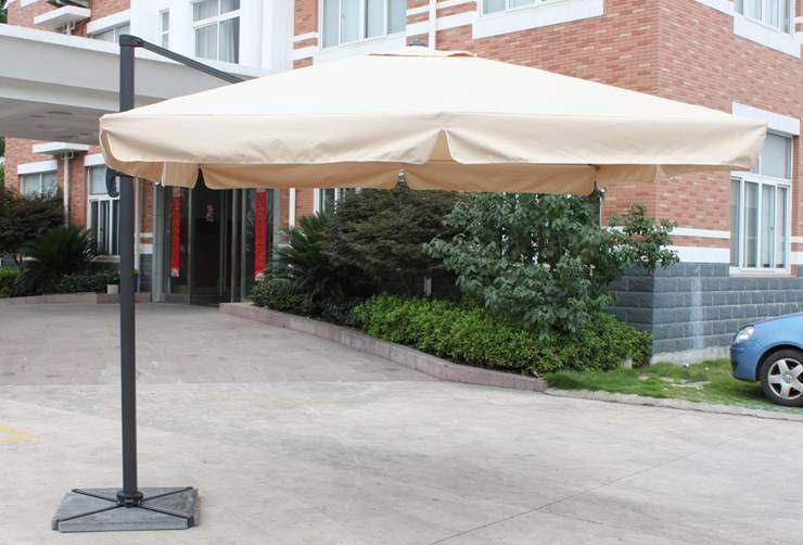 罗马伞、实木中柱铝伞、单边伞、户外遮阳蓬批发