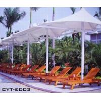 海边浴场沙滩躺椅、实木沙滩椅、编藤沙滩椅、躺床批发
