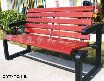 供应木制休闲椅、广场摆放休闲椅户外家具