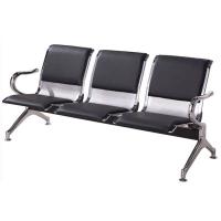 石家庄三人位钢制排椅 公共车站等候排椅