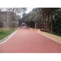 生态透水混凝土,透水沥青材料,生态透水地坪