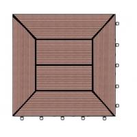 生态木塑室外地板供应地