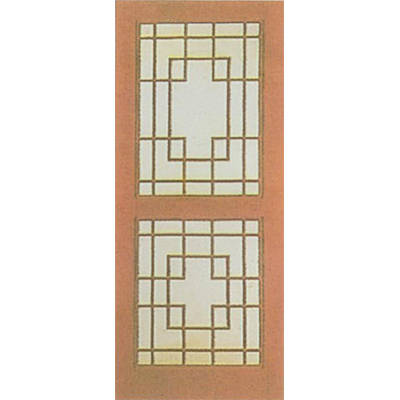 面板工艺套装门,仿古花格门,窗,挂落,客厅门卫生间门.