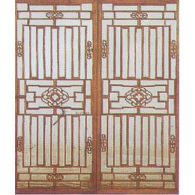 林盛木业-仿古门窗