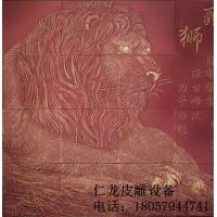 精美皮雕背景墙艺术画_皮雕软包背景墙_新型墙面材料