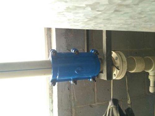 泊头首信PE管速熔管承口式哈夫节堵漏器