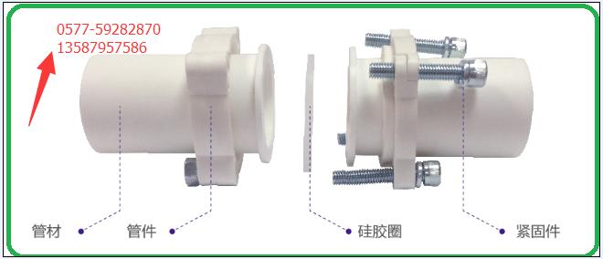 迈威牌 高密度聚乙烯HDPE静音排水管 端面式连接