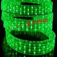 LED扁三线彩虹管、扁3线灯带72灯七彩、斜跳、段跳、排跳灯
