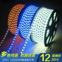 高压LED5050灯带 低压LED3528灯带 LED贴片灯