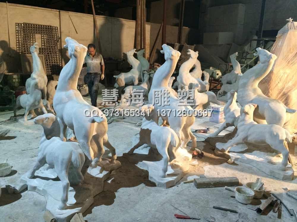 广东雕塑|广东动物雕塑|三羊开泰雕塑|卡通雕塑