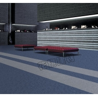 花旗方块丙纶地毯耐脏素色环保写字楼办公会议室