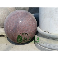 大理石风水球|石雕风水球