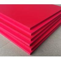 红色PVC发泡板,PVC装饰板