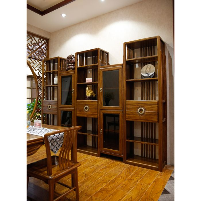 1号-南京实木书柜