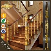 水晶楼梯立柱扶手 别墅 酒店 KTV 会所 复式楼梯