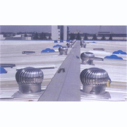 钢结构厂房空气环境,传统风机对周边2~3米的范围有明显效果,新型屋面