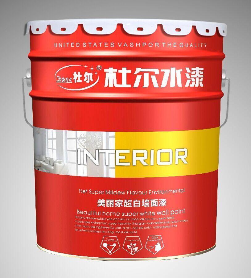 供应杜尔水漆环保内外墙涂料 建筑涂料环保水漆