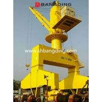 上海邦鼎BANGDING船用液压伸缩直臂吊机
