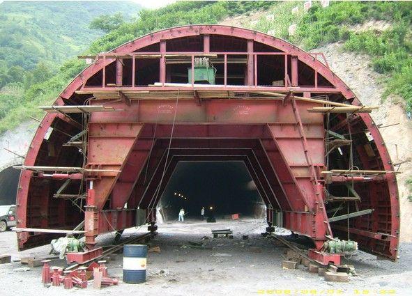 陕西钢模板厂家分析模版台车结构 - 西安专业隧道台车
