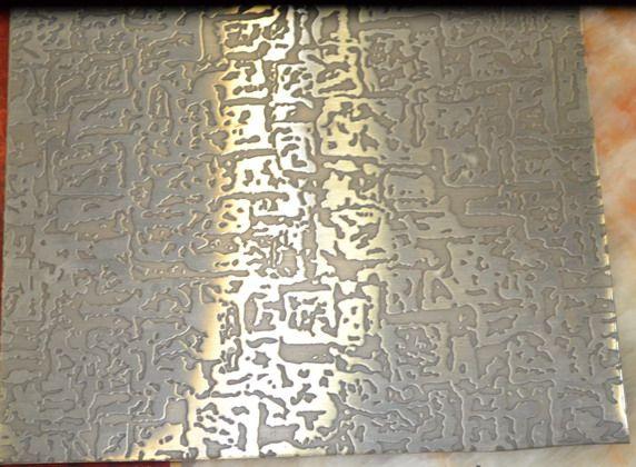 304不锈钢蚀刻镜面花纹装饰板