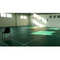 天津羽毛球场地铺设PVC运动地胶