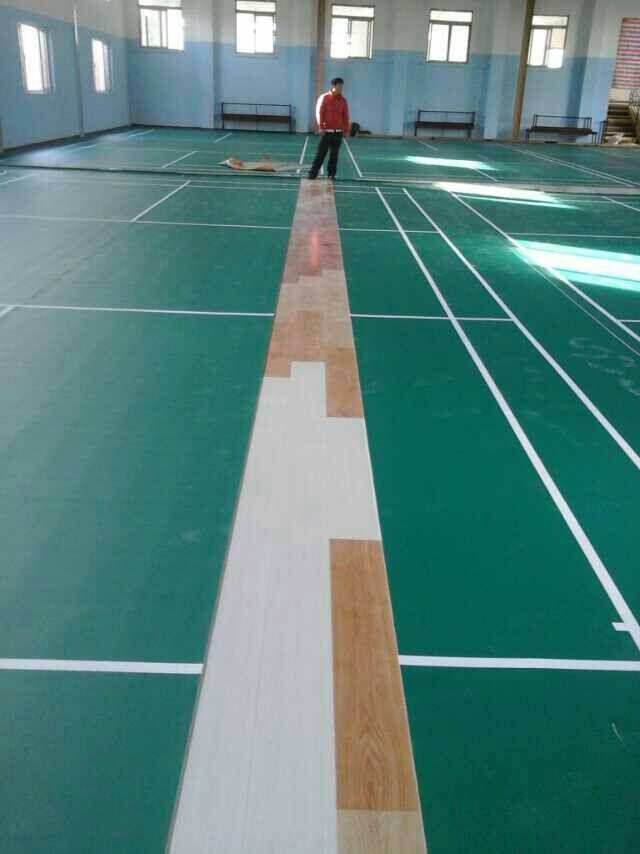 以上是羽毛球场比赛用PVC地胶 羽毛球馆专用PVC地胶的详细介绍,