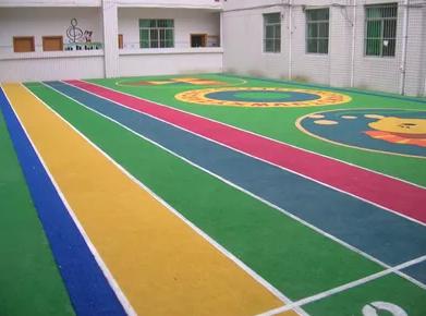 PDM 运动 地板 塑胶 篮球 场地 铺设产品图
