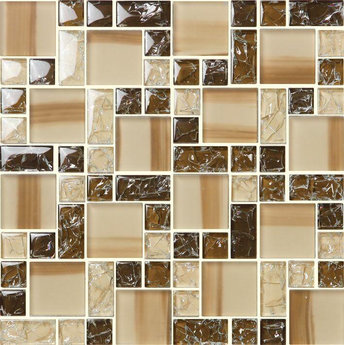 佛山玻璃马赛克客厅背景墙贴图 现代装饰夹胶玻璃马赛克