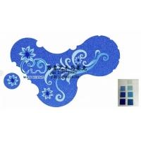 专注游泳池水晶拼图马赛克陶瓷拼花设计