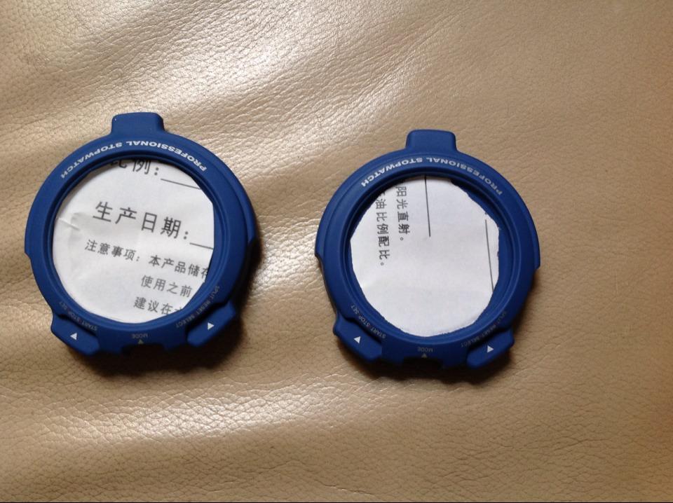 供应深圳吉虹塑胶手表壳橡胶漆