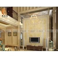 豌豆角瓷砖艺术背景墙 欧式 电视背景墙瓷砖 马蒂亚
