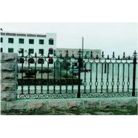 内蒙乌海铸铁围栏锻打铁艺护栏