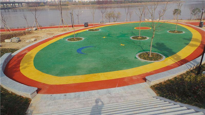 台州临海塑胶场地儿童活动场