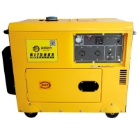 小型5kw柴油静音发电机可带电机
