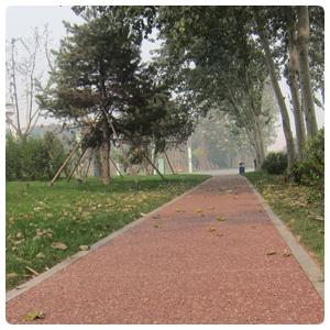 西宁青海防滑耐磨彩色马路透水地坪,压膜压花地坪
