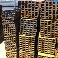供应槽钢、U型钢、冷热镀锌槽钢、冲孔槽钢、热轧槽钢