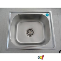 成都科的卫浴 厨房单盆水槽