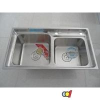 成都科的卫浴厨房双盆水槽