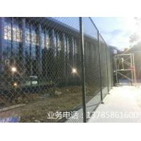 冠欧组装式PVC包塑篮球场围栏网