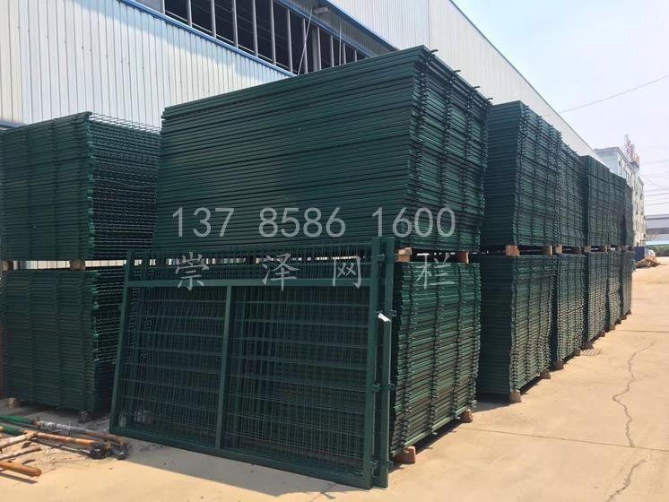 现货钢筋混凝土立柱金属网片防护栅栏