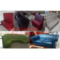 北京快餐桌椅,饭店餐厅餐桌餐椅卡座沙发定做