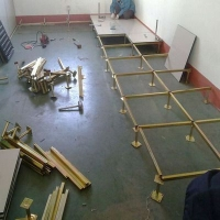 防静电地板消防控制室地板机房架空活动地板