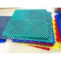 洗车房排水防滑塑料篦子 高分子塑胶拼接格栅
