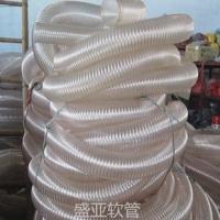 PU木工吸尘管,伸缩管  螺旋钢丝管