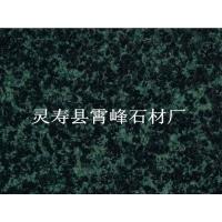 厂家直销河北森林绿石材,园林专用绿色花岗岩