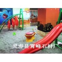 儿童沙池专用天然海沙 白色圆粒质感砂 儿童沙滩用海沙